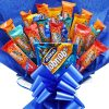 Hobnobs Chocolate Bouquet – McViteas Snack Bar – Fathers Day Gift – Chocolate Hamper – Perfect Gift – Chocolate Gift – Special Occasion Gift
