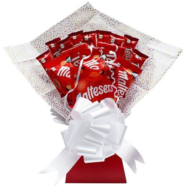 Maltesers Chocolate Bouquet Hamper Birthday Gift Perfect