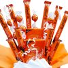 Orange Lindt Lindor Chocolate Bouquet – Perfect Birthday Anniversary Special Occasion Sorry You Are Leaving Kids Gift For Her Him Hamper