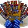 Pick and Mix Chocolate Bouquet – Perfect Kids Birthday Anniversary Special Occasion Sorry You Are Leaving Gift For Her Him Hamper