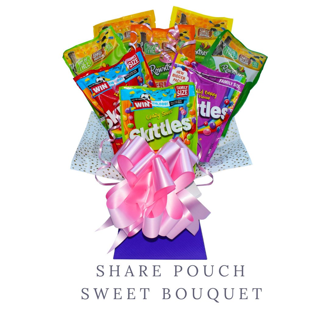 Share Pouch Sweet Bouquet