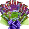 Skittles Sweet Bouquet – Perfect Kids Birthday Anniversary Special Occasion Sorry You Are Leaving Gift For Her Him Hamper