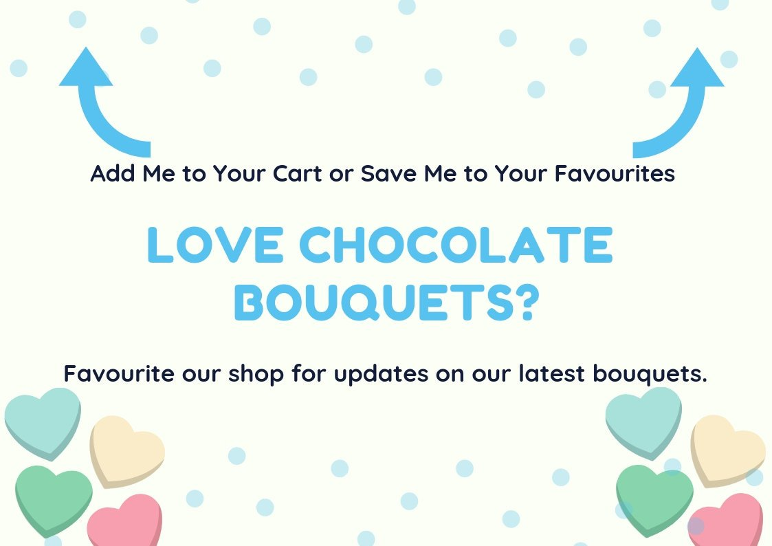 ... Yorkie Chocolate Bouquet – Double Decker – Bounty – Fathers Day Gift – Gifts for Dad ...