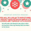 Late dispatch notice